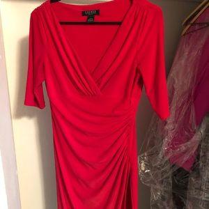 Red Ralph Lauren dress